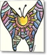 Ababang Guam Butterfly 2009 Metal Print