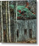 Abandoned In The Woods. Metal Print