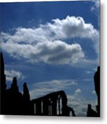 Abbey Skyline Metal Print