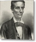Abraham Lincoln - As A Presidential Candidate Metal Print