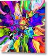 Abstract 373 Metal Print