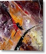 Abstract 45 Metal Print