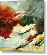Abstract 9 Metal Print by Pol Ledent