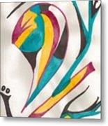 Abstract Art 105 Metal Print
