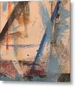 Abstract At Sea 3 Metal Print