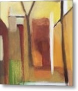 Abstract Backyard 2008 Metal Print