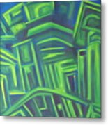 Abstract Cityscape Series IIi Metal Print