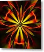 Abstract Floral 032811 Metal Print