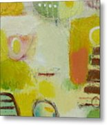 Abstract Life 2 Metal Print