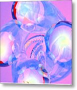 Abstract Number 7 Metal Print