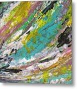 Abstract Piano 1 Metal Print