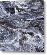 Abstract Rapids 5 Metal Print