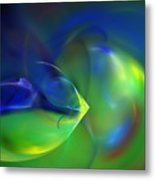 Abstract Water World 040411 Metal Print
