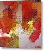 Abstrakt In Serie Metal Print