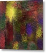 Abstraktion In Farben Metal Print