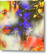 Abstrato Zzzm Metal Print