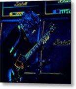 Ac Dc Electrifies The Blues Metal Print
