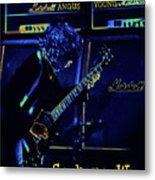 Ac Dc Electrifies The Blues In Spokane Metal Print