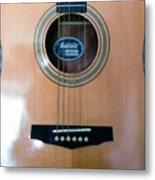 Acoustic Guitar - Front Metal Print