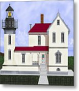 Admiralty Head Light Station Circa 1920 Metal Print