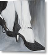 After The Dance Metal Print