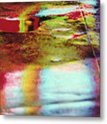 After The Rain Abstract 2 Metal Print