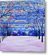 After The Snow Metal Print