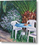 Afternoon Break Metal Print