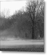 Afternoon Fog Rising Metal Print