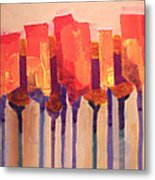 Afternoon Tulips Metal Print