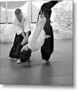 Aikido Wrist Lock  Metal Print