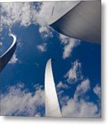 Air Force Memorial Metal Print by Louise Heusinkveld