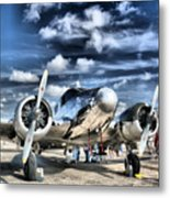 Air Hdr Metal Print by Arthur Herold Jr