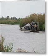 Airboat Rides 25 Cents Metal Print