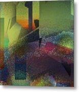 Airbrush Metal Print