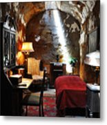 Al Capone's Cell - Eastern State Penitentiary Metal Print by Bill Cannon