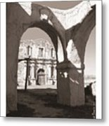 Alamo Through Time Metal Print