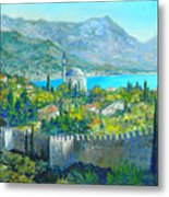 Alanya Turkey Metal Print