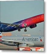 Alaska Boeing 737-900 N493as More To Love Phoenix Sky Harbor October 27 2017 Metal Print