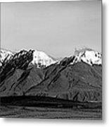 Alaska Range Left Panel Metal Print