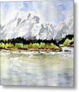 Alaska Solitude Metal Print