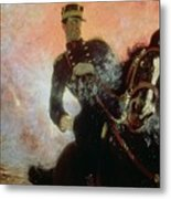 Albert I King Of The Belgians In The First World War Metal Print by Ilya Efimovich Repin