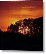 Alberta Sunset Metal Print
