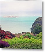 Alcatraz Island Prison In San Francisco California Metal Print