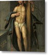 Alegoria De La Redencion De Cristo Metal Print