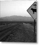 Alien Highway Metal Print by David Lee Thompson