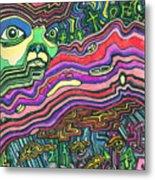 Alien Nation Metal Print
