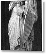 Allegory: Columbia, 1870 Metal Print