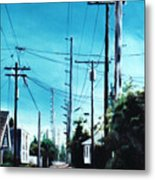 Alley No. 1 Metal Print