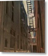 Alley Series 5 Metal Print